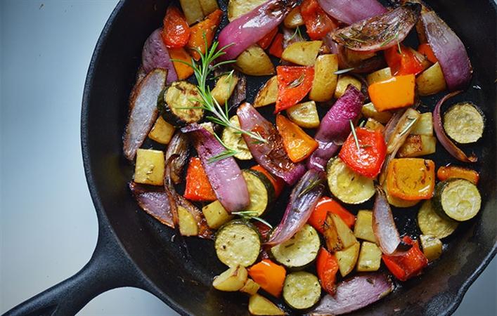 Roasted Balsamic Veggies
