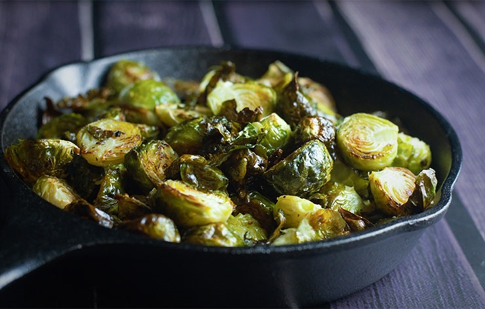 Salted Brussel Sprouts