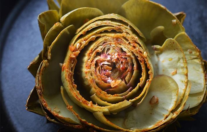 Whole Roasted Artichoke