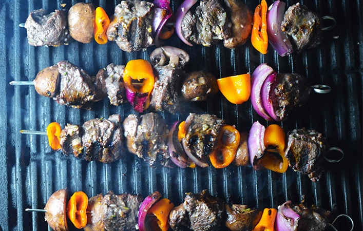 Buffalo Kebabs