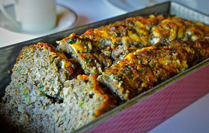 Gluten Free Manchego Herb Bread