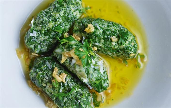 Gluten Free Spinach Gnocchi