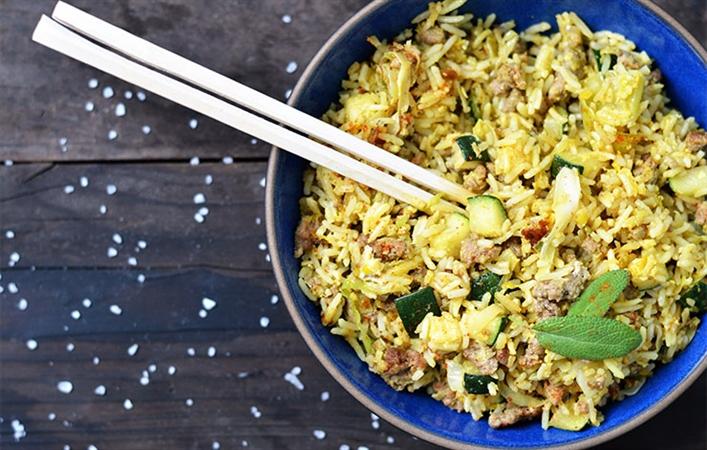 Mediterranean Fried Rice