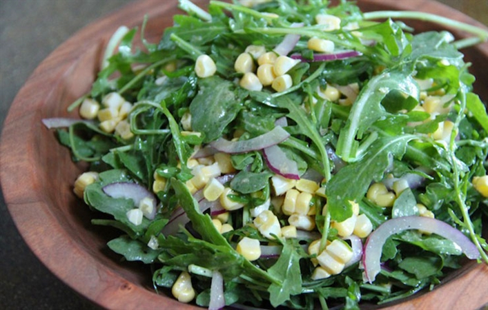 Arugula Corn Salad