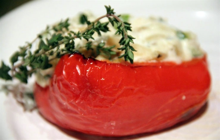 Ricotta-Stuffed Peppers