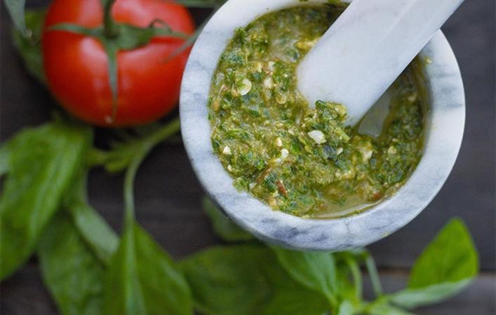 Tomato Basil Pistou