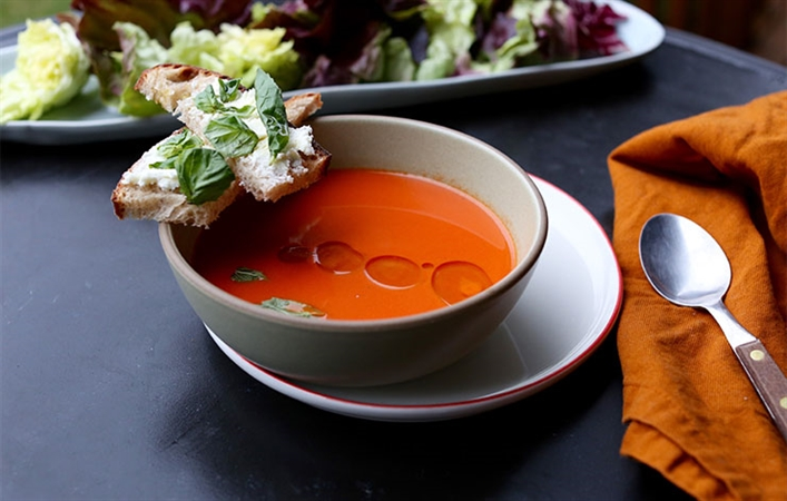 Simplest Tomato Soup