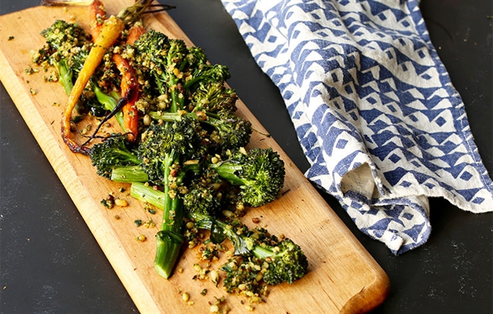 Broccolini & Carrots with Gremolata