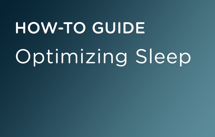 Optimizing Sleep