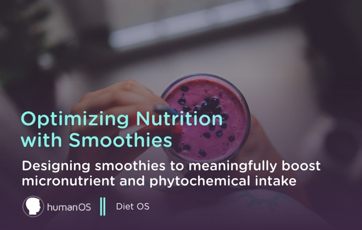 Optimizing Nutrition with Smoothies