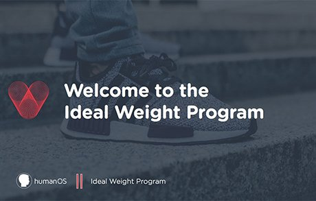 Ideal Weight Program Courses Cover Image