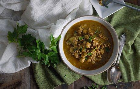 Mener Mediterranean Diet Recipes Peasants Stew Image