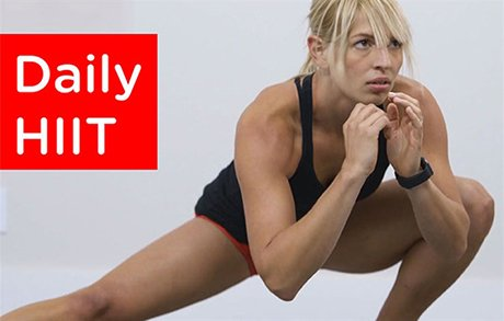 Daily HIIT Workout Cover Image