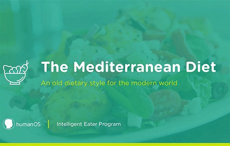Mediterranean Diet Course Cover Image